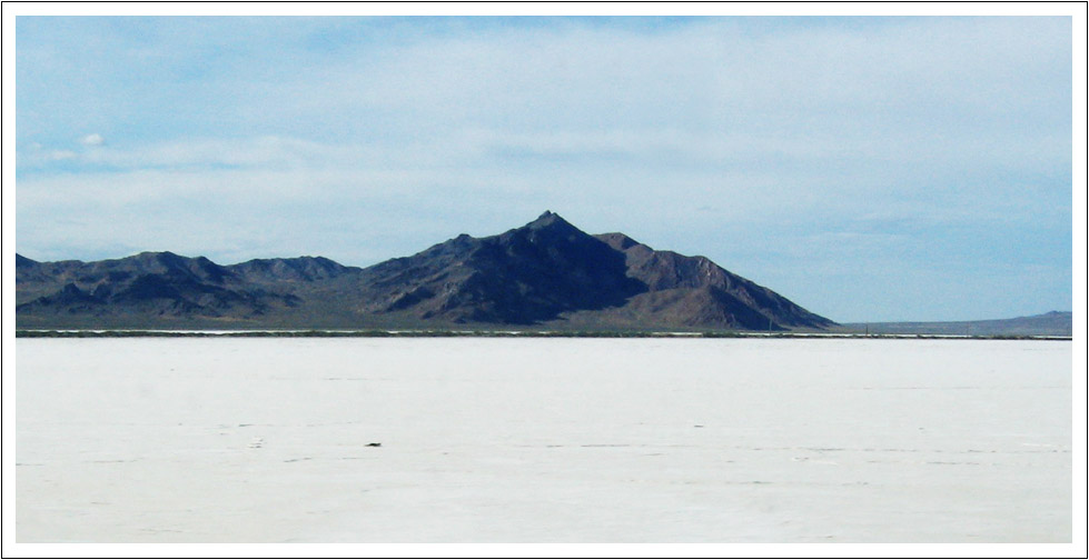 Near Bonneville Salt Flats