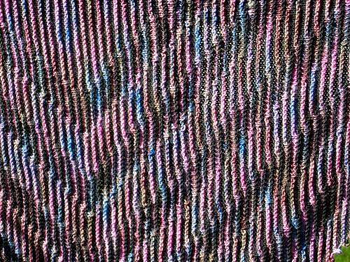 shadow shawl - detail