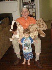 Grandaddy with Doggie & Big Teddy