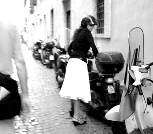 Motorbike dress