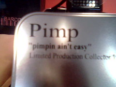 Pimp wear.