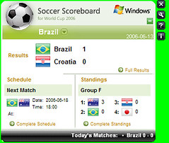 Microsoft Soccer Scorecard