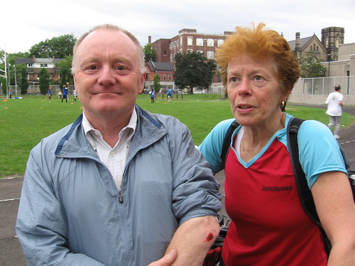 Bob Ramsay & Dr. Jean Marmoreo