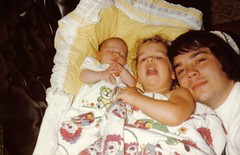 sarah, manda, and daddy (1980)