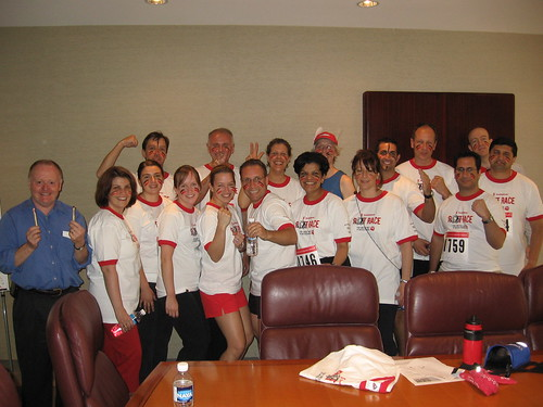 Team McPhedran at the Scotiabank Rat Race for the United Way