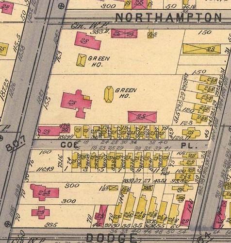Coe Place - Buffalo, NY c.1894