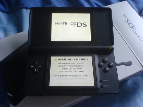 My Black DS Lite