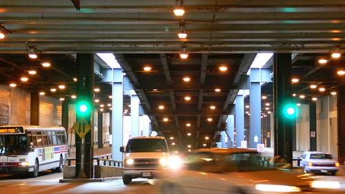 Under Columbus Drive