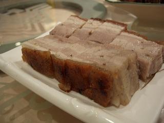20060411 好彩海鮮酒家 豚バラ