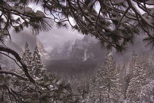 Winter Storm, Yosemite
