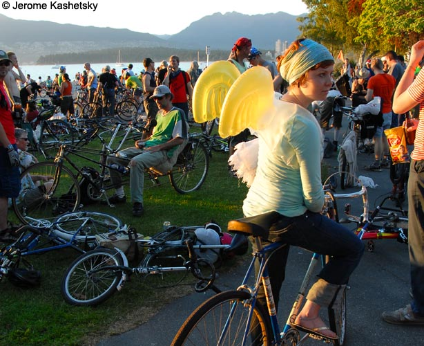 Critical Mass  - Vancouver