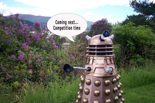 Dalek on holiday