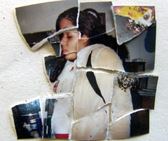 Ripped Found Photo 3 photo by See El Photo