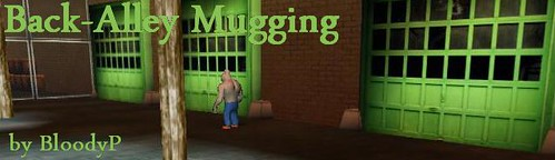 back-alley mugging