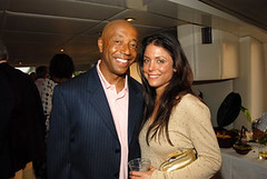 Russell Simmons and Bethenny Frankel