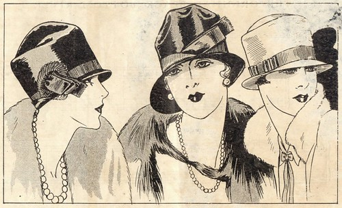 Art Deco Jazz Age Hats