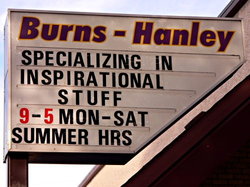 burns-hanley sign