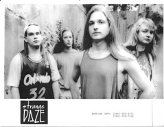 Strange Daze, a now defunct alternative band from Baton Rouge, ca. 1992