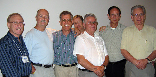 Aaron Bacher, Paul Gauthier, Ron Foreman, Marc Durocher, Frank Zoebelein, Ray Turner, Gordon Burchill
