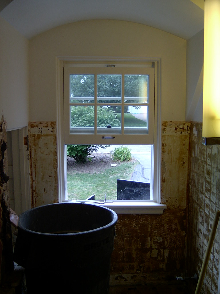 Bathroom Window (Gutting started!)