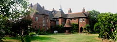red house panorama