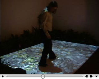 Interactive Floral Floor – Mine Control