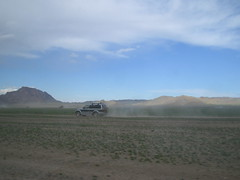 Naadam car race