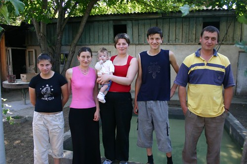 The wonderful family in Atskuri!