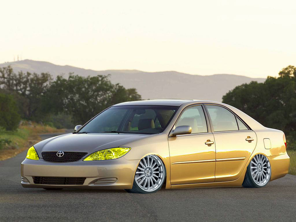 toyota camry lowered