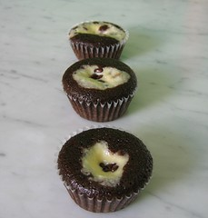 black bottom cupcake 85