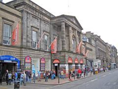 Assembly Rooms on Edinburgh's George St - Festival Fringe Venue No 3