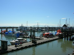 Steveston fish dock