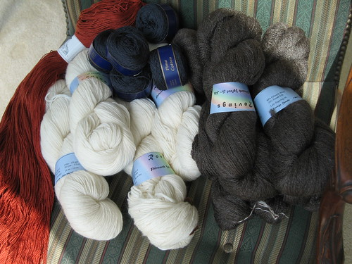 the entire yarn haul