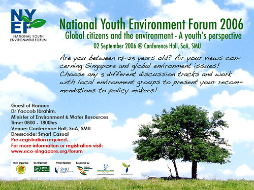 National Youth Environment Forum 2006