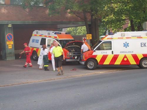 Ambulance needs a boost