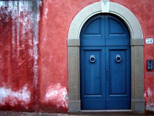 Door on Via di San Leonardo