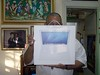 Ramon Anibal con su Mac book