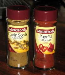 Cumin & paprika