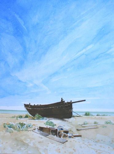Fishing Boat Hulk. Dungeness