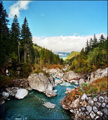 Mountain stream photo by Katarina 2353