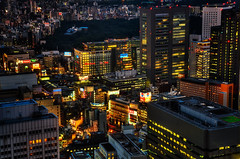 Lights on, Tokyo! photo by Sprengben [why not get a friend]