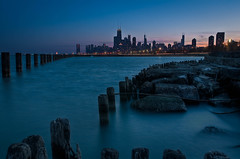 Chicago Skyline From Fullerton Beach photo by rseidel3
