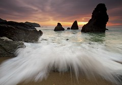 Explode - - -  Rodeo Beach, California photo by ernogy