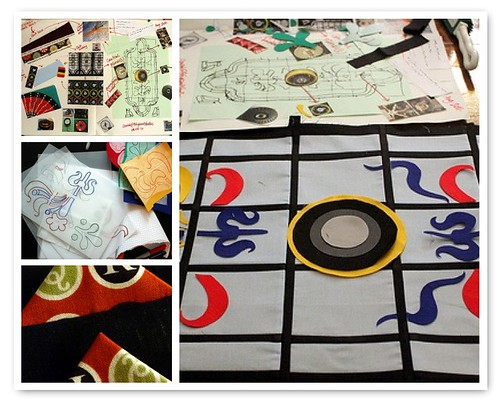 Bletchley Park Quilt - WIP