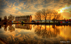 Hoogkerk Sunset,Groningen stad,the Netherlands,Europe photo by Aheroy(2Busy)