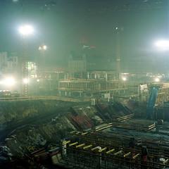 Construction site, Katowice. photo by wojszyca