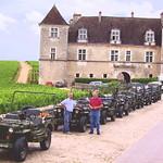 Jeeps at Clos de Vougeot 2