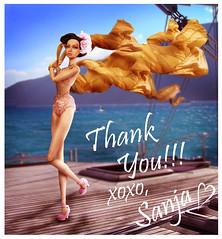 Challenge 8: Thank YouIII  XOXO Sanja photo by Gabooche