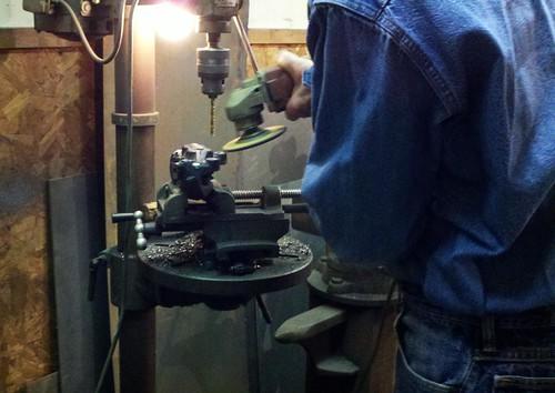 a little grinding