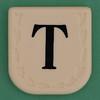 Line Word black letter T